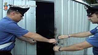 ROCCA PRIORA -- SMONTAVANO E RICICLAVANO PEZZI DI AUTO DI LUSSO