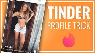 TINDER PROFILE TIPS: Use this Bio and Girls will text you first!