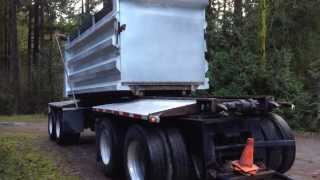 1980 Knight 4-Axle Transfer Trailer with 2010 Langfab Box BIDonIRON.com ID#: 126