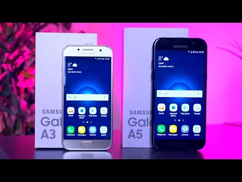 Samsung Galaxy A5 et A3 (2017) - Prise en main