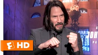 Keanu Reeves Pushed Himself Harder Than Ever in Action Training | John Wick: Chapter 3 Interview