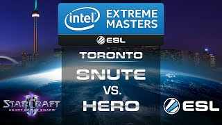 Snute vs. herO (ZvP) - IEM Toronto 2014 - Loser