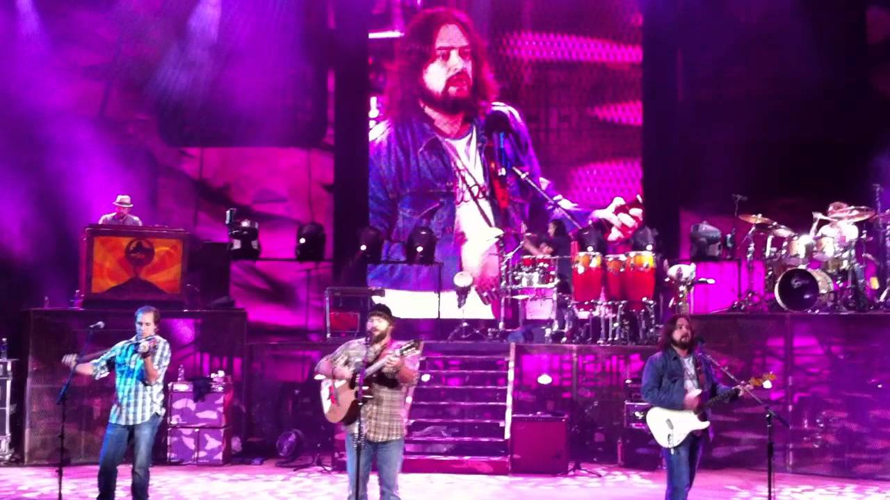 Zac Brown Band covers Pink Floyds comfortably numb