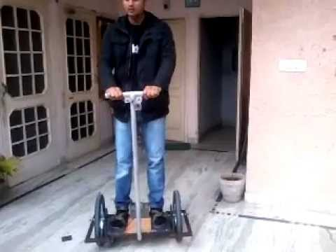 Home Made Segway Mechanical Project Youtube