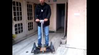 Home made segway mechanical project