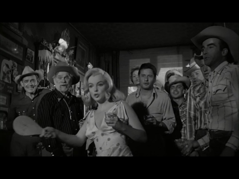"""Marilyn Monroe Spanking The Ball With a Bit Of Metallica - """"The Misfits"""" 1961"""