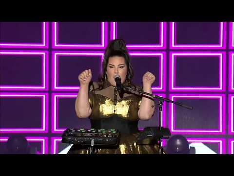 Netta -TOY - LIVE - Eurovision 2018   HD