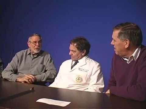 Dr. Joseph Howe, Dr. Gary Guebert and Dr. Norman Kettner, April 2007