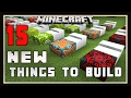 Minecraft: 15 New Things To Build With Terracotta And Concrete Blocks