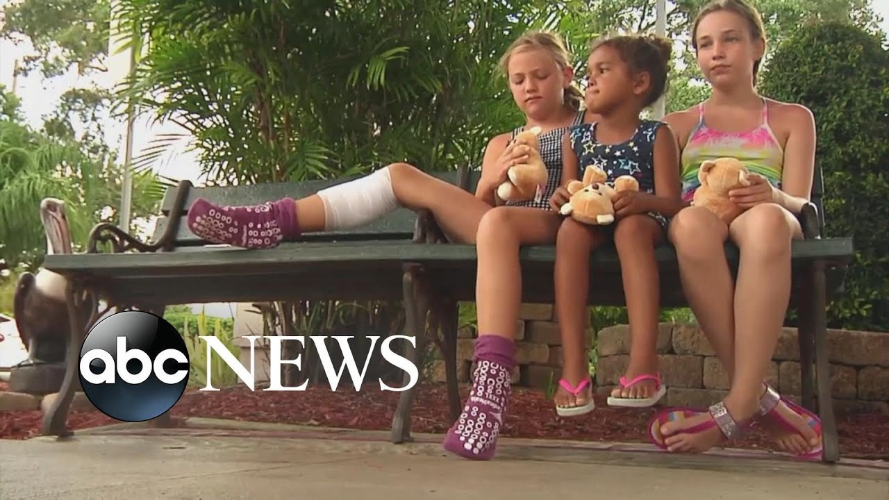 ABC News:9-year-old bitten by shark in knee-deep water l ABC News