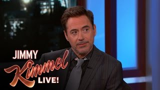 Robert Downey Jr. on the New SpiderMan