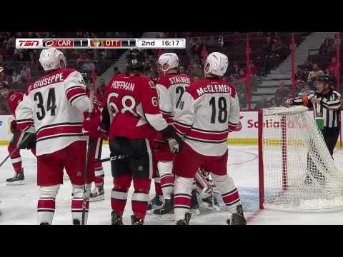 Carolina Hurricanes vs Ottawa Senators | NHL | 01-NOV-2016