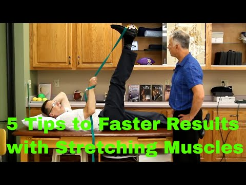 5 Tips to Faster Results in Stretching Muscles (Hamstring, Calf, Chest)