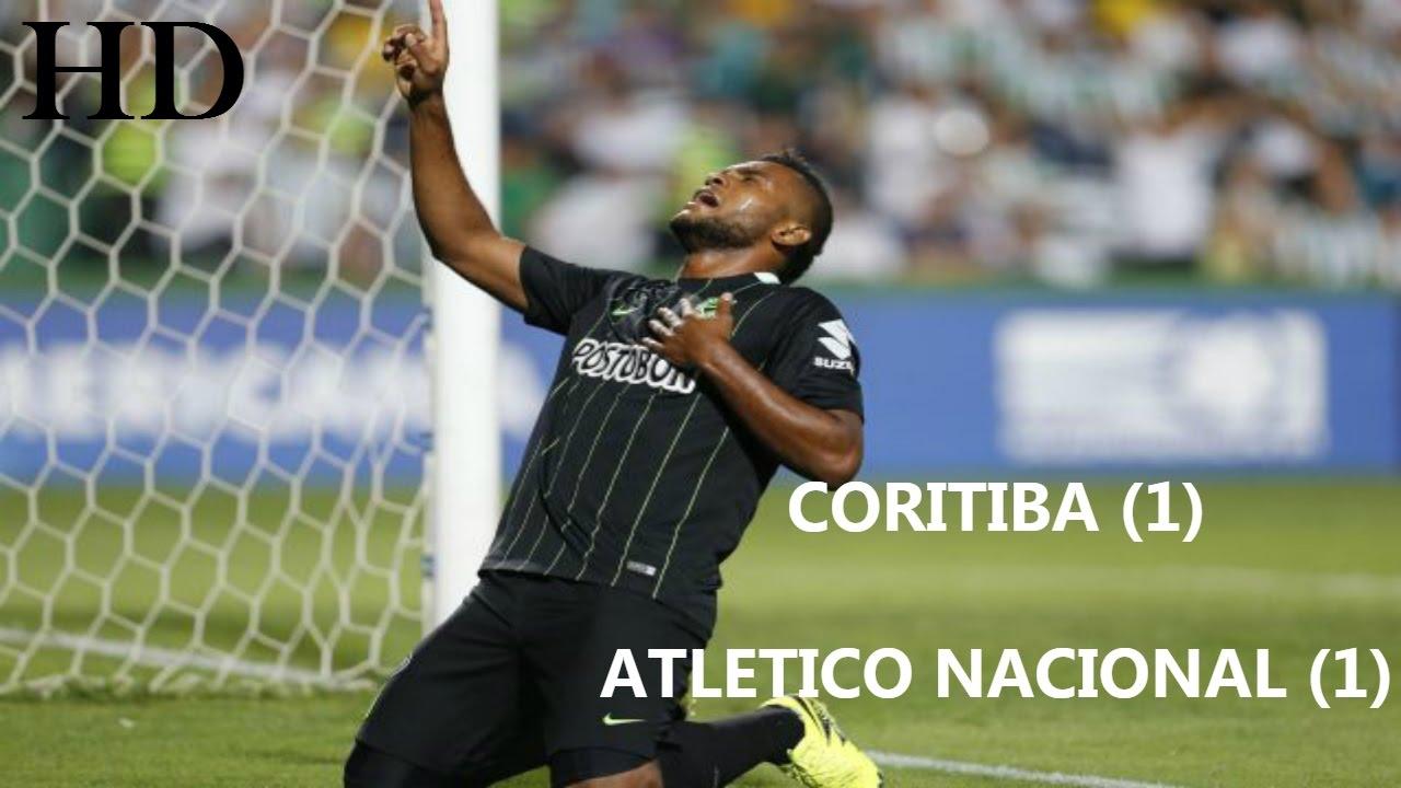 Download [Resumen y Goles] Coritiba 1 - 1 Atlético Nacional - Copa Sudamericana 2016-HD