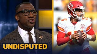 Shannon Sharpe on Mahomes