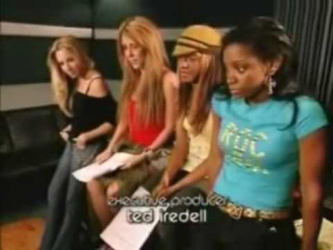 "Danity Kane In The Studio Recording ""Hold Me Down"" [Aundrea SLAYS]"