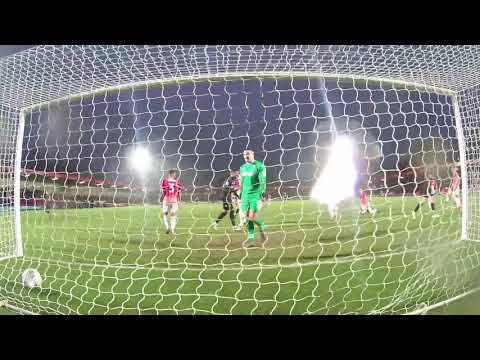 GOALCAM: Watch Sam Hoskins and Andy Williams find the net against Salford City