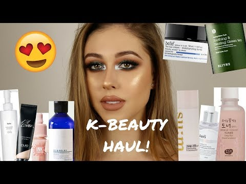 KOREAN MAKEUP & SKINCARE HAUL
