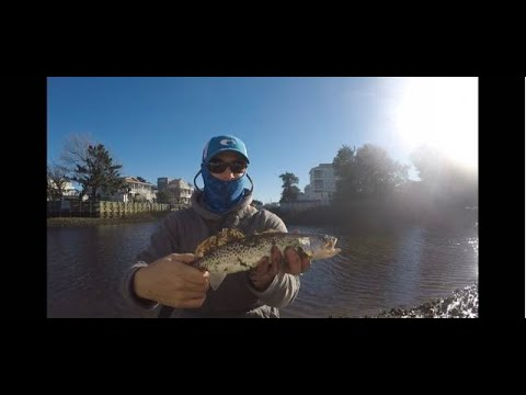 Winter Fishing For Speckled Trout & Redfish