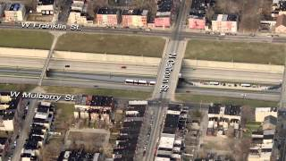 Baltimore Red Line End-to-End Alignment Simulation
