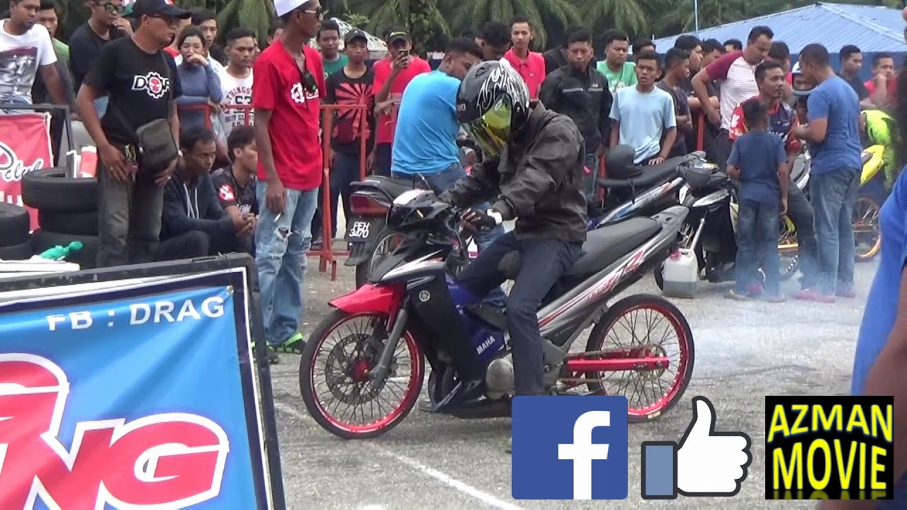 PART 1 125cc Sprint Test Drag Racing Kubang Menerong