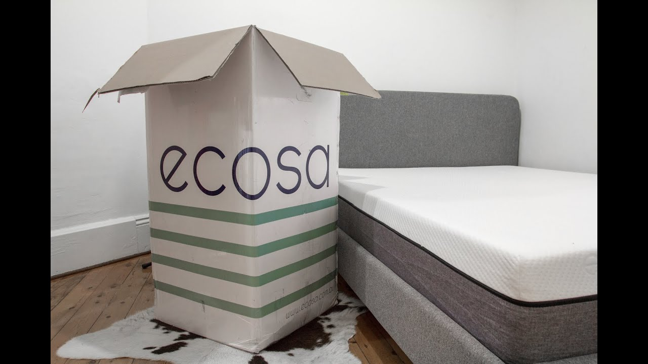 Mattress In A Box - Ecosa Unboxing - YouTube