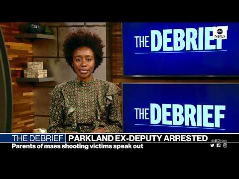 The Debrief: Trump overseas, Parkland deputy arrested, Tiananmen Square anniversary | ABC News