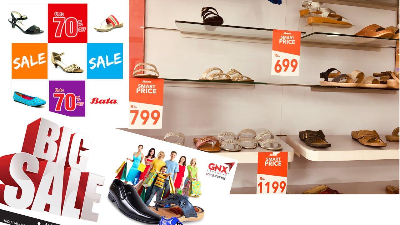 BATA shoes sale 2020 upto 70% off