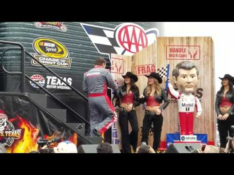 Nascar Sprint Cup Driver Introductions - November 6, 2016 at Texas Motor Speedway