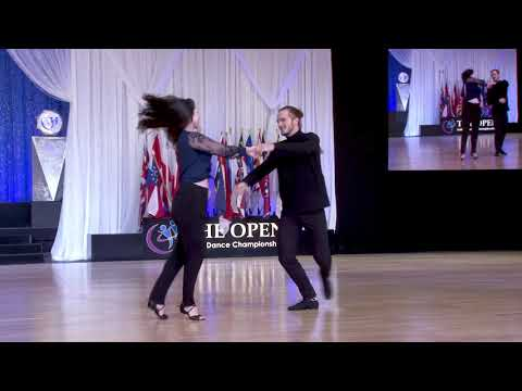 The Open 2019   1st Place   Strictly Open Swing   Dillon Luther And Lisa Picard
