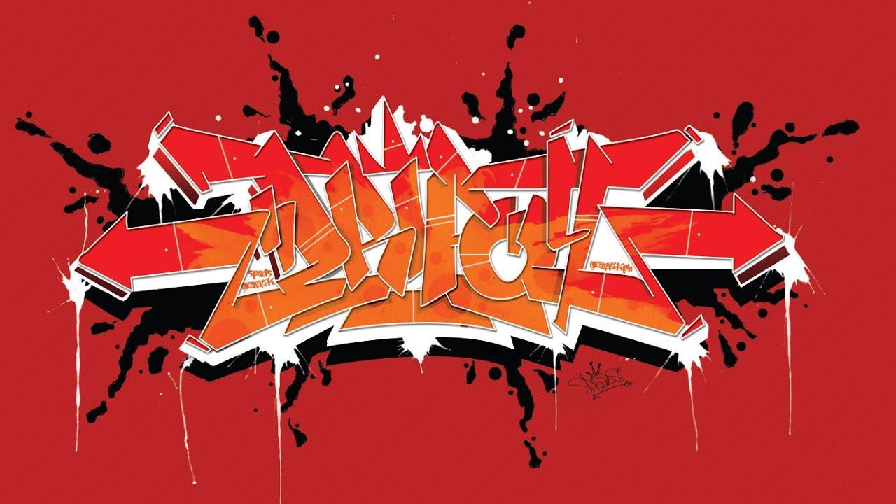 Drifoy | Graffiti Names | Speed Drawing - YouTube