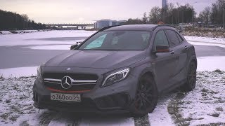 Тест-Драйв Mercedes Gla 45 Amg Edition 1 (Stage 2) От Булкина