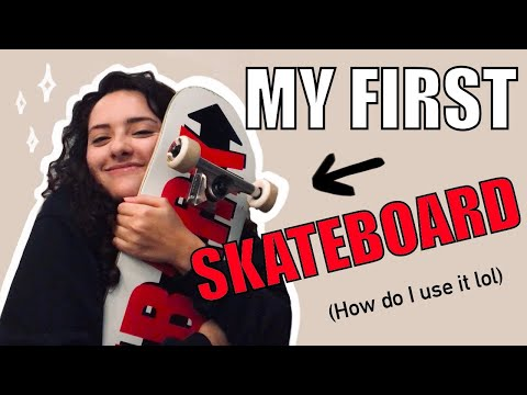 BUYING MY FIRST SKATEBOARD