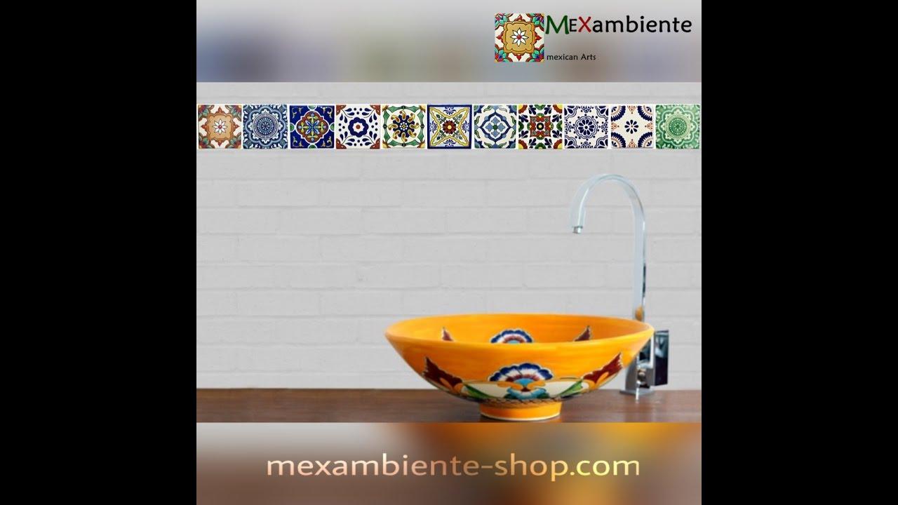 Mexikanische Waschbecken Fürs Badezimmer & Gäste Toilette