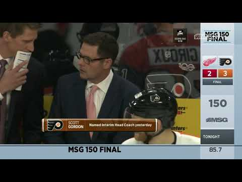A New Boss in Philly for the Flyers   MSG 150