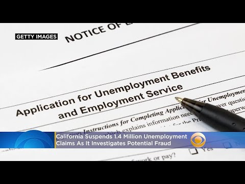 1.4 Million Virus Unemployment Claims Suspended In California