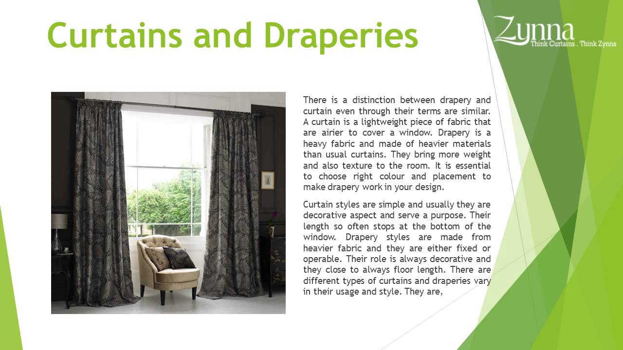 Types of curtains styles - Types Of Curtains And Draperies Contemporary Curtains