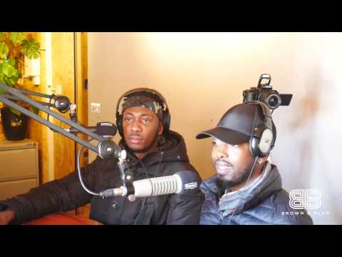 Brown X Blue Interview with GUAP MAGAZINE Founders Ibrahim and Jide on Reprezent Radio