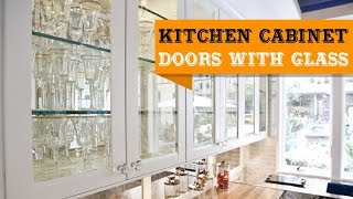 65+ Kitchen Cabinet Doors with Glass Fronts