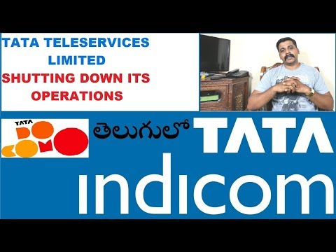 Tata Teleservices Limited Shutting down its operations Explained in Telugu