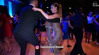 Oleg Sokolov and and Denisse A. Cambria Salsa Dancing at Berlin Salsacongress 2018, Sun 07.10.2018