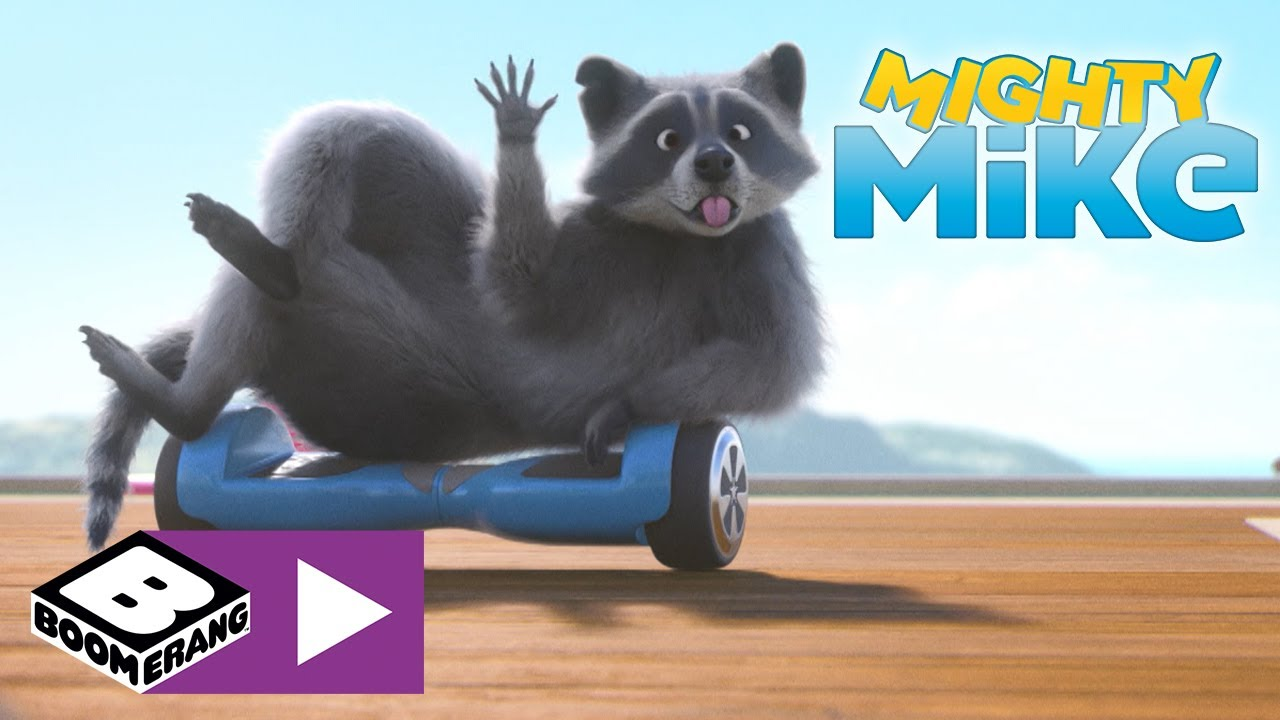 Mighty Mike   Get Off The Hoverboard!   Boomerang UK 🇬🇧