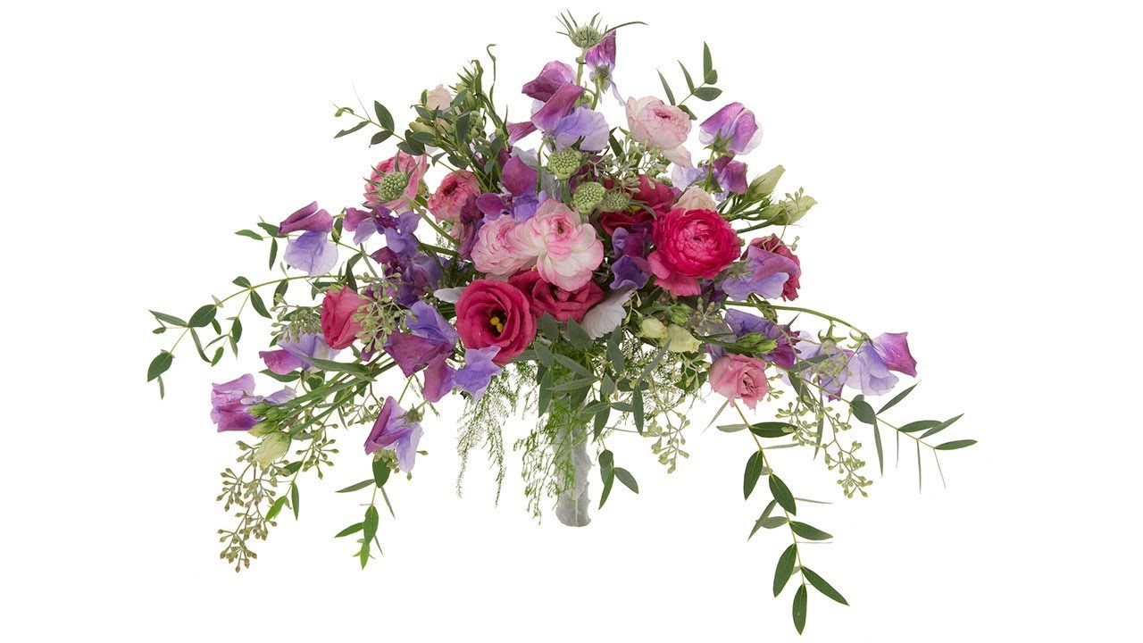 Spring flowers bridal bouquet youtube spring flowers bridal bouquet izmirmasajfo