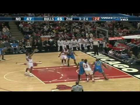 Tyrus Thomas Highlights vs Hornets (12.26.09)