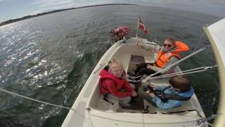 Sailboat cruise in Midget 15 Lynæs 14 Oostzeejol