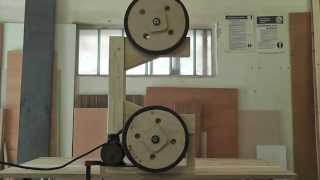 Wooden Bandsaw (frame And Wheels)