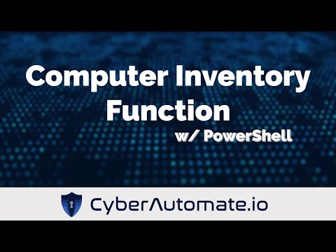 Remote Computer Inventory with PowerShell | Powershell