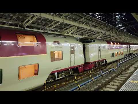 【鐵道旅情】Sunrise サンライズ瀬戸・出雲 東京駅 | 285系 寝台列車 | 20170802