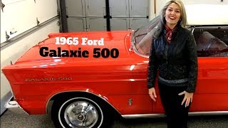 ELFgal's quick rundown of her 1965 Ford Galaxie 500