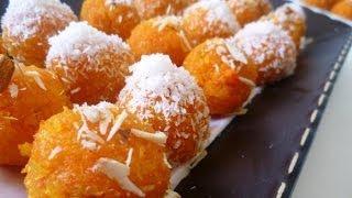 Carrot Rava Laddu